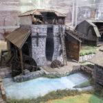 Modell av Fiskars gamla masugn