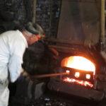 Arbete vid en Lancashire-ugn