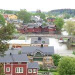 Utsikt från borgbacken mot Borgå