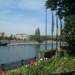 Utsikt över floden Meuse