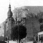 Dinant. Katedralen och citadelet.
