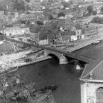 Namur 1947 utsikt från borgen