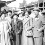Herr o fru Axel Pousett, fru Lemon, Gertrud Martinelle, Brita Öman, herr o fru Ragnar Frunk, Vilhelm Lundgren