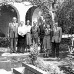 Gäster på Manoir de Chéniot hos familjen Peisenaire