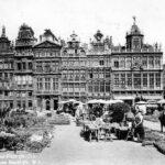 Bryssel, Gand Place 1947