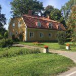 Gammal byggnad i Ullfors